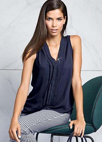 ashley brooke sleeveless top by heine ashley brooke kaleidoscope. Black Bedroom Furniture Sets. Home Design Ideas
