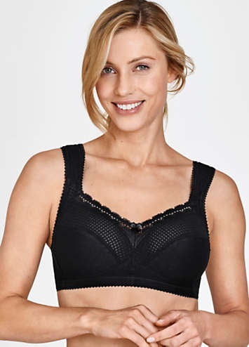 Miss Mary of Sweden Cotton Bra