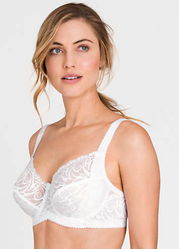 Miss Mary Of Sweden Underwired Lace Bra Kaleidoscope