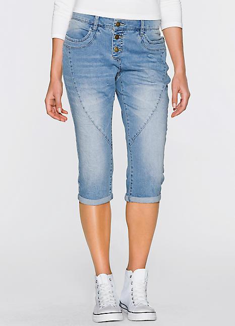 boyfriend capri jeans by john baner jeanswear kaleidoscope. Black Bedroom Furniture Sets. Home Design Ideas