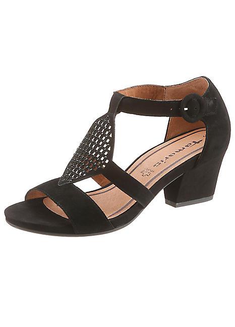 tamaris high heel sandals kaleidoscope. Black Bedroom Furniture Sets. Home Design Ideas