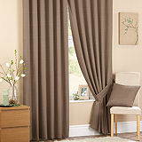 Cassia Pair of Lined Eyelet Curtains