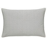 Modern Faux Silk Pintuck Square Cushion