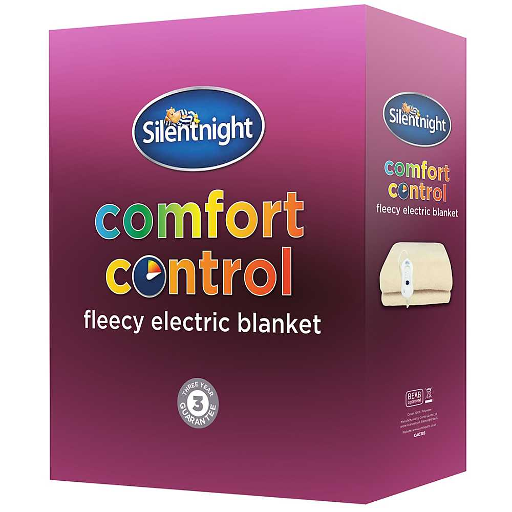 silentnight fleece electric blanket. Black Bedroom Furniture Sets. Home Design Ideas
